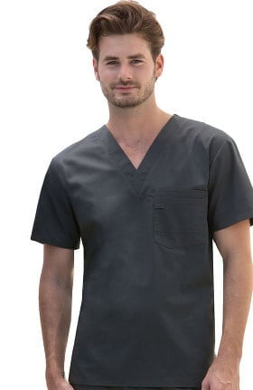 Evolution NXT by Dickies Men's V-Neck Solid Scrub Top