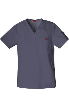 Clearance Gen Flex by Dickies Men's Youtility V-Neck Solid Scrub Top
