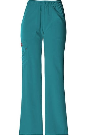 Clearance Xtreme Stretch by Dickies Women's Elastic Waist Solid Scrub Pant