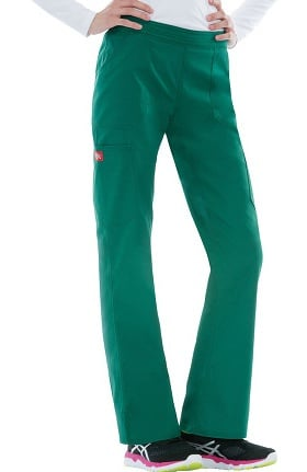 Clearance Everyday Scrubs Signature Stretch by Dickies Women's Mid-Rise Pull-On Scrub Pant