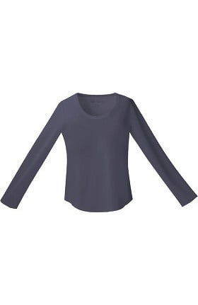 Clearance Gen Flex by Dickies Women's Crew Neck Long Sleeve Knit Tee