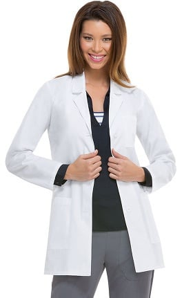 Everyday Scrubs Signature by Dickies Women's Princess Seam 32' Lab Coat
