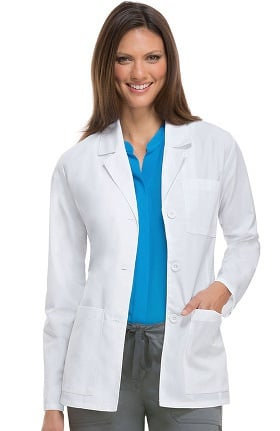 Everyday Scrubs Signature by Dickies Women's Consultation 28' Lab Coat