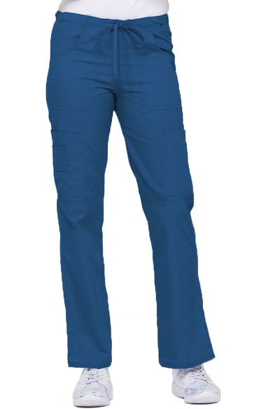 222054ced06 Everyday Scrubs Signature by Dickies Women's Low Rise Drawstring Cargo Pant