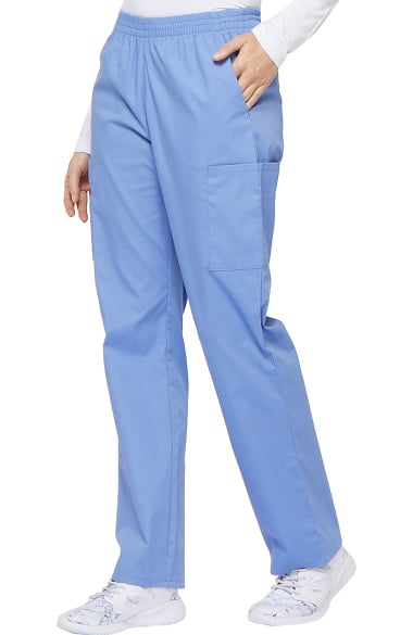 Dickies Pull-on Cargo Scrub Pants Women/'s Medical Uniform Bottom 86106