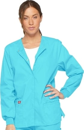 Clearance EDS Signature by Dickies Women's Snap Front Scrub Jacket