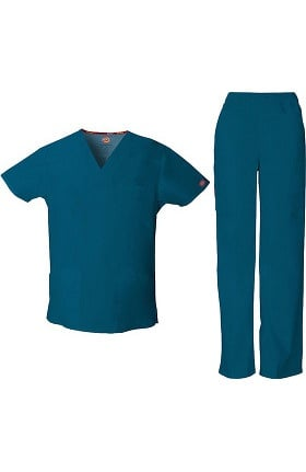 EDS Signature by Dickies Men's Scrub Set