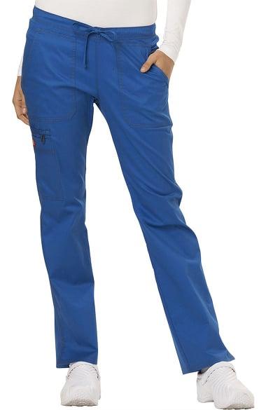 29d1d96161e Gen Flex by Dickies Women's Low Rise Straight Leg Scrub Pant | allheart.com