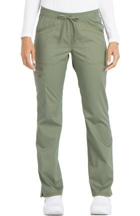 Essence by Dickies Women's Straight Leg Drawstring Scrub Pant