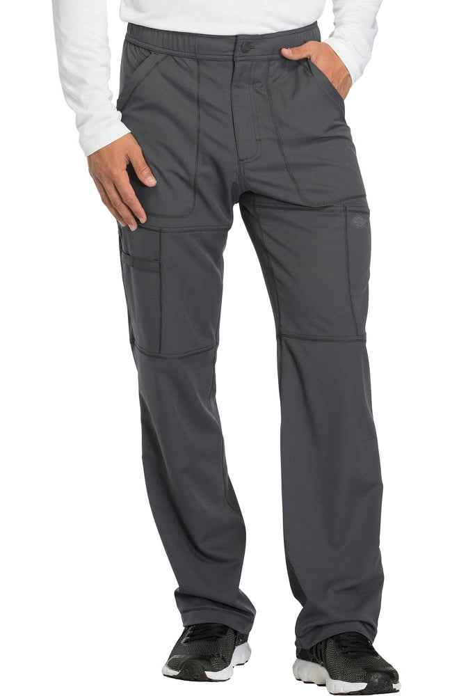 9004fd75de8 Dynamix by Dickies Men's Zip Fly Cargo Scrub Pant