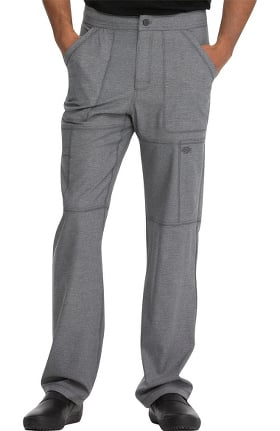 Clearance Dynamix by Dickies Men's Zip Fly Cargo Scrub Pant