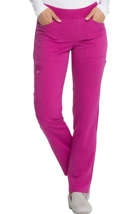 Clearance Balance by Dickies Women's Straight Leg Pull-On Scrub Pant