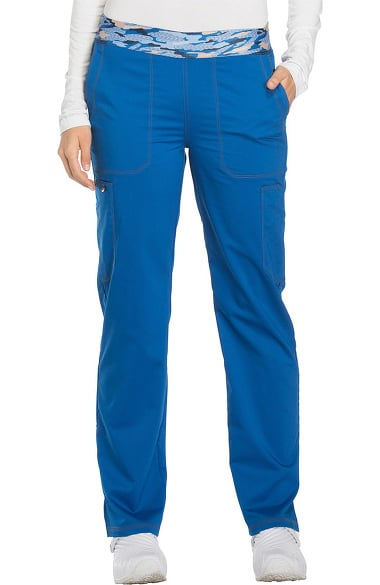 50a3543f61a Clearance Essence by Dickies Women's Elastic Waistband Cargo Scrub Pant