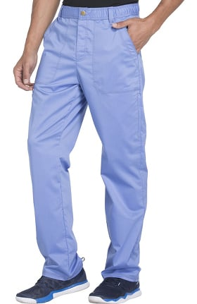 Clearance Essence by Dickies Men's Drawstring Zip Fly Scrub Pant