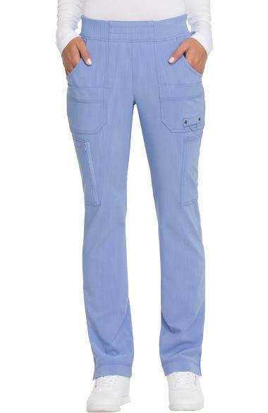 20122623016 Advance by Dickies Women's Knit Elastic Waistband Tapered Leg Scrub Pant