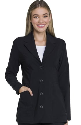 "Advance by Dickies Women's Notched Lapel 28"" Lab Coat"