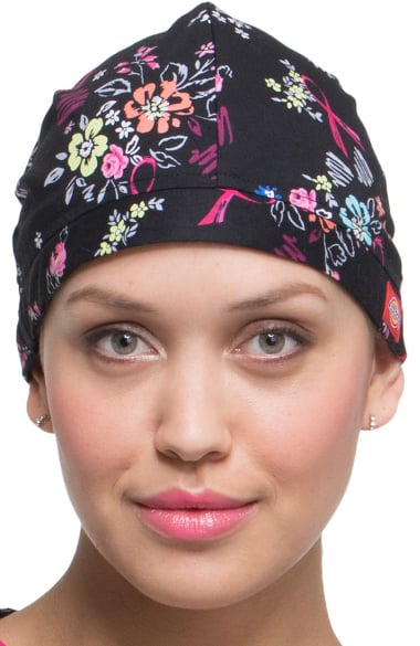 7847b737e26 Everyday Scrubs Signature by Dickies Unisex Floral Print Scrub Hat ...