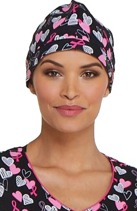 EDS Signature by Dickies Women's Heart Print Scrub Hat
