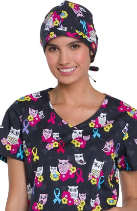 Clearance EDS Essentials by Dickies Women's Owl Print Scrub Hat