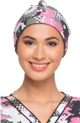 Clearance EDS Signature by Dickies Women's Floral Print Scrub Hat