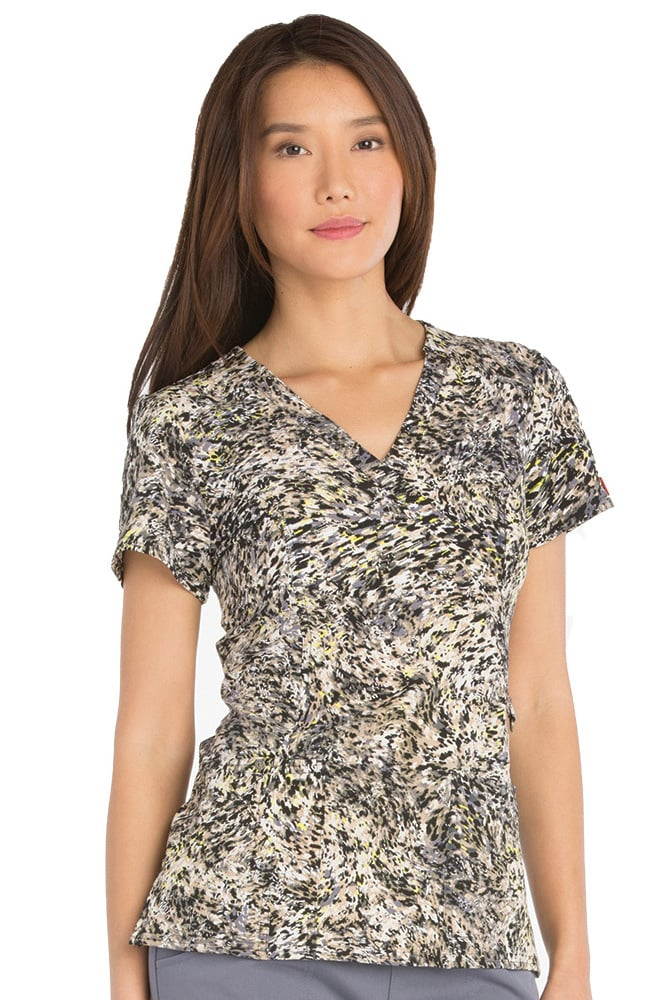 8dee63bc1b2 Clearance Xtreme Stretch by Dickies Women's Mock Wrap Camo Print ...