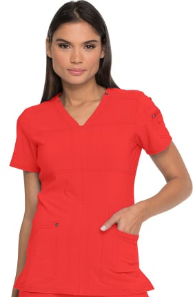 Clearance Advance by Dickies Women's V-Neck Solid Scrub Top