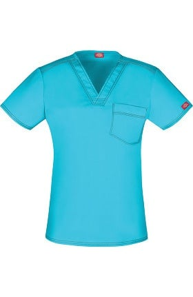 Clearance Gen Flex by Dickies Unisex V-Neck Top