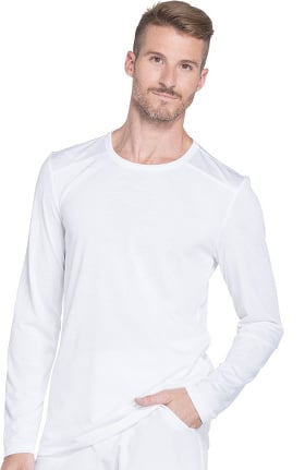 Clearance Dynamix by Dickies Men's Long Sleeve Solid Underscrub T-Shirt