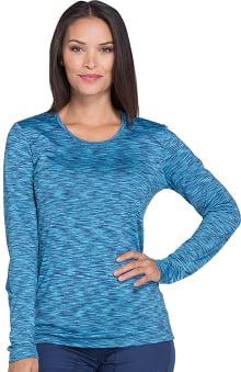 Dynamix by Dickies Women's Long Sleeve Solid Underscrub T-Shirt
