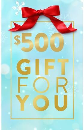 allheart $500 eGift Certificate