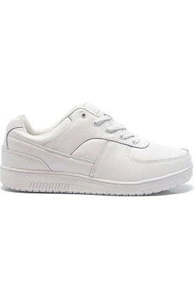 Genuine Grip Men's White Athletic Work Shoe