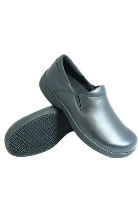 Genuine Grip Men's Black Slip On Shoe
