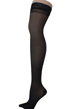 Clearance Global Health Women's 20-30 mmHg Compression Extra Firm Sheer Thigh High Stockings