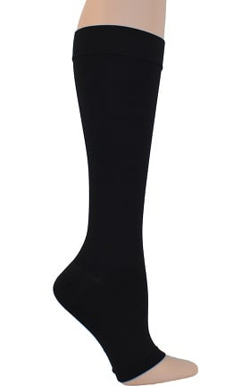 Global Health Unisex 20-30 mmHg Compression Open Toe Knee-High Surgical Support Socks