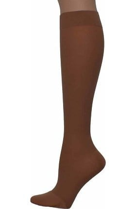 Global Health Women's 20-30 mmHg Compression Extra Firm Microfiber Knee High Closed Toe Stockings