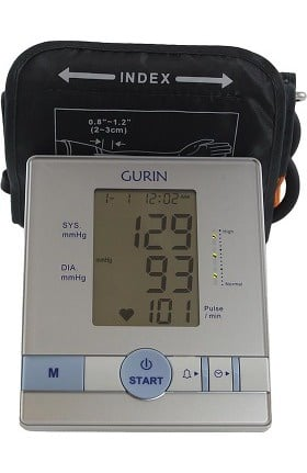 Gurin Automatic Blood Pressure Monitor with Easyfit Cuff
