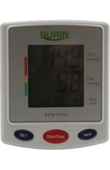 Gurin Pro Series Wrist DiGital Large DiSplay Blood Pressure Monitor with Case