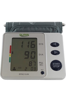 Gurin Upper Arm Digital 2 User Blood Pressure Monitor with Case