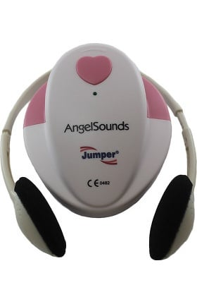 SantaMedical Angelsounds Fetal Doppler with Large Headphones