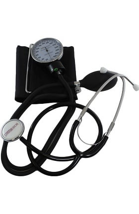 SantaMedical Aneroid Momanometer with Stethoscope