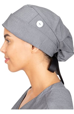 Healing Hands Women's Sage Bouffant Solid Scrub Hat