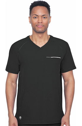 HH360 by Healing Hands Men's Steven V-Neck Top