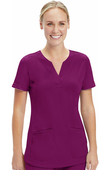 ONYX by Healing Hands Women's Alexa Solid Scrub Top
