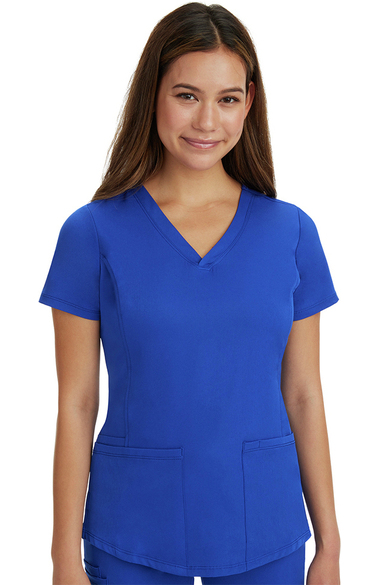c518faa0b6b HH Works by Healing Hands Women's Marcia Solid Scrub Top | allheart.com
