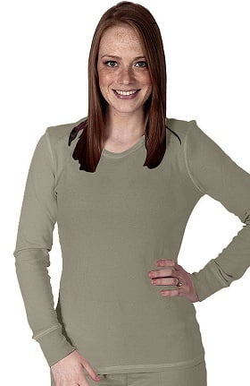 Clearance Purple Label by Healing Hands Women's Olivia Thermal Underscrub