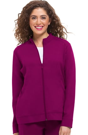 Purple Label Modern Fit by Healing Hands Women's Dakota Zip Front Scrub Jacket