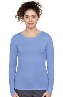 Purple Label by Healing Hands Women's Melissa Long Sleeve Stretch T-Shirt