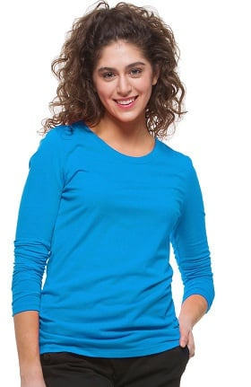 Clearance Knits by Healing Hands Women's Melissa Long Sleeve Stretch T-Shirt