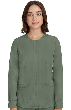 HH Works by Healing Hands Women's Megan Button Front Jacket