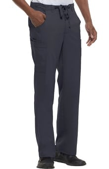 Blue Label by Healing Hands Men's Dylan Cargo Zip Fly Scrub Pant